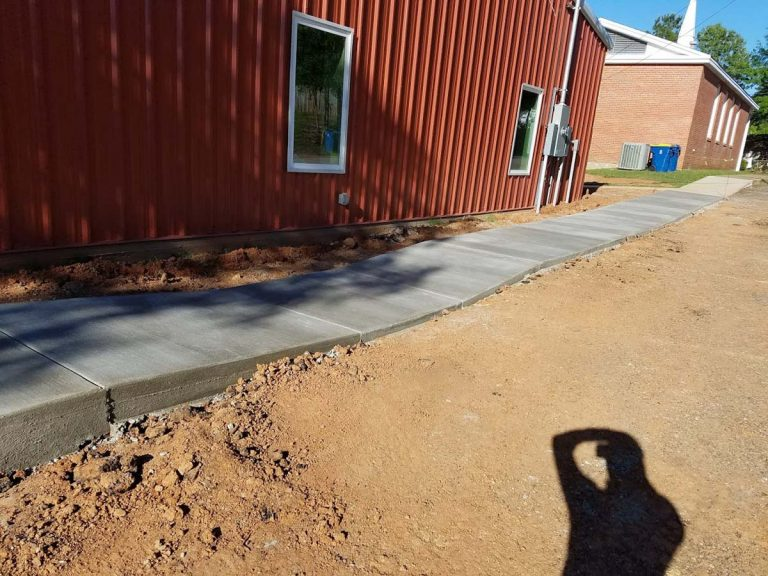 Concrete Sidewalks in Tyler, Longview and Marshall, TX