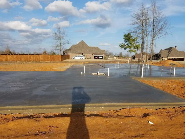Concrete House Foundations in Tyler, Longview and Marshall, TX